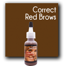 Correct Red Brows
