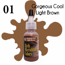 01 Gorgeous Cool Light Brown