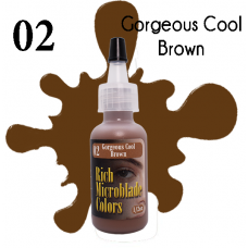 02 Gorgeous Cool Brown