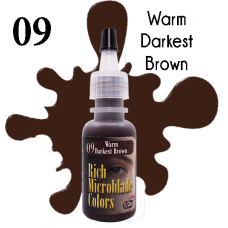 09 Warm Darkest Brown