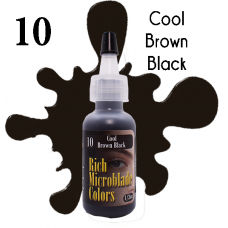 10 Cool Brown Black