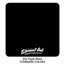 Тату краска Eternal Triple Black E02